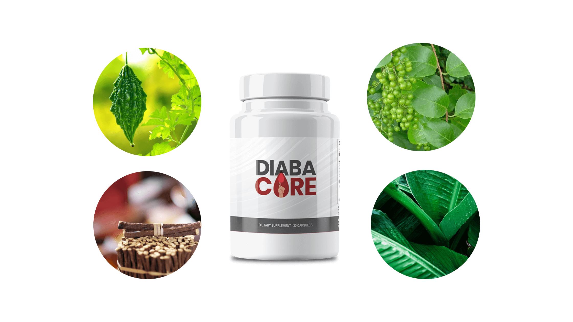 Diabacore supplement Ingredients